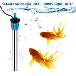 50-300W Aquarium Heater Water Temperature Thermostat Submers