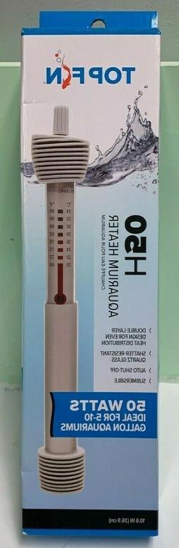 Top Fin 50 Watt Aquarium Heater- Fits 5-10 Gallon Aquariums