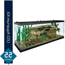Tetra 55-Gallon Starter Aquarium with Net, Food, Filter, Hea