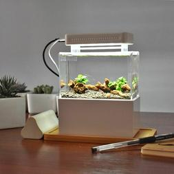 Aquaponic Aquarium Mini Plastic Fish Tank With Water Filtrat