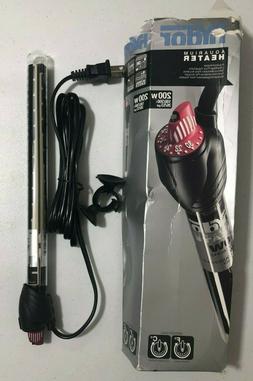 Hydor Aquarium Heater 200w 26/53 gal DAMAGED PACKAGE NEW BJ