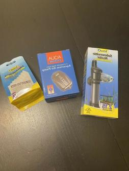 Aquarium Heater, Air Pump, Filters