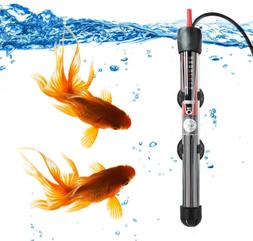 Mylivell Aquarium Heater Submersible Auto Thermostat Heater,