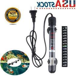 Aquarium Heater Submersible Freshwater Marine Tropical Fish