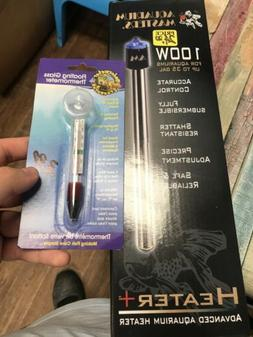Aquarium Masters 100w Heater And Thermometer Bundle 35 Gallo