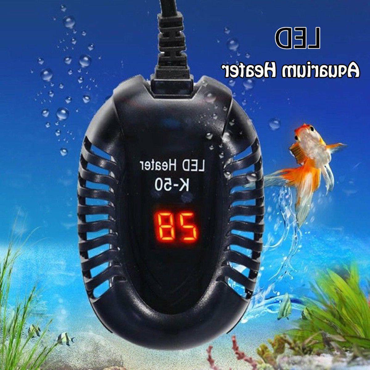 25-100W Aquarium Heater Tank Digital Submersible Adjustable