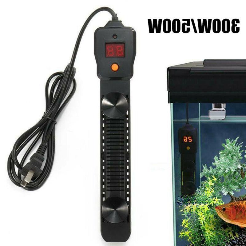 300w 500w led digital aquarium water heater