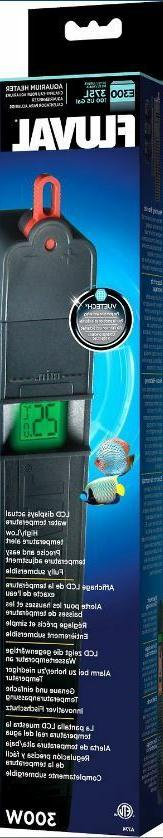 Fluval Advanced Electronic Aquarium Heater E300 100 gal / 37