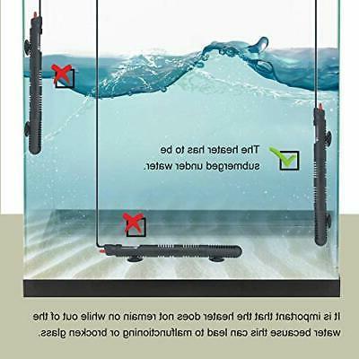 Aquarium Submersible Thermostat Tank Heater