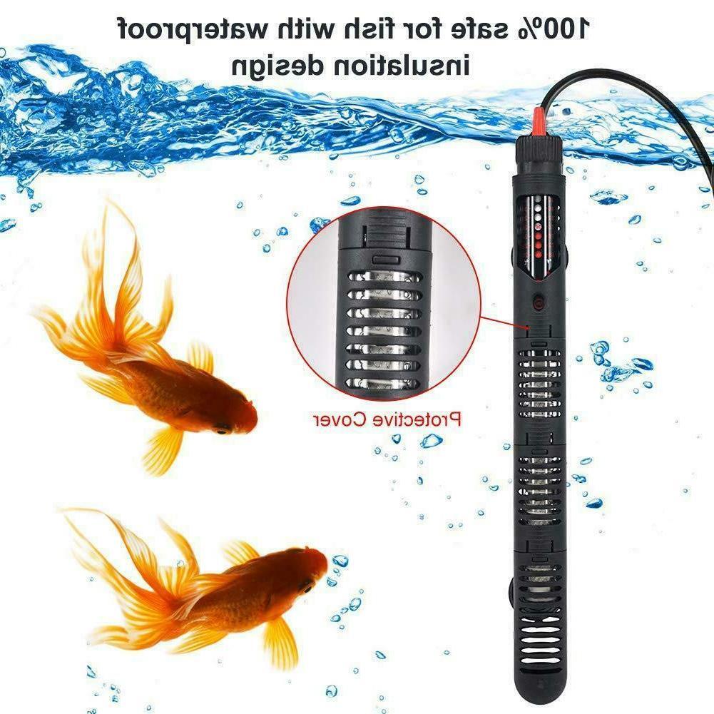 aquarium heater submersible auto thermostat
