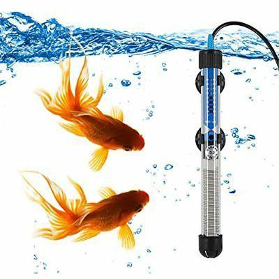 aquarium heater submersible fish tank water thermostat