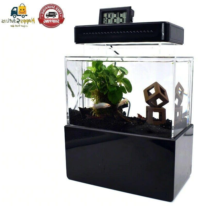 Fish Bowl with Filtration Quiet
