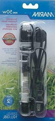 NEW Fluval Marina Submersible Heater for Aquarium Mini 50 wa
