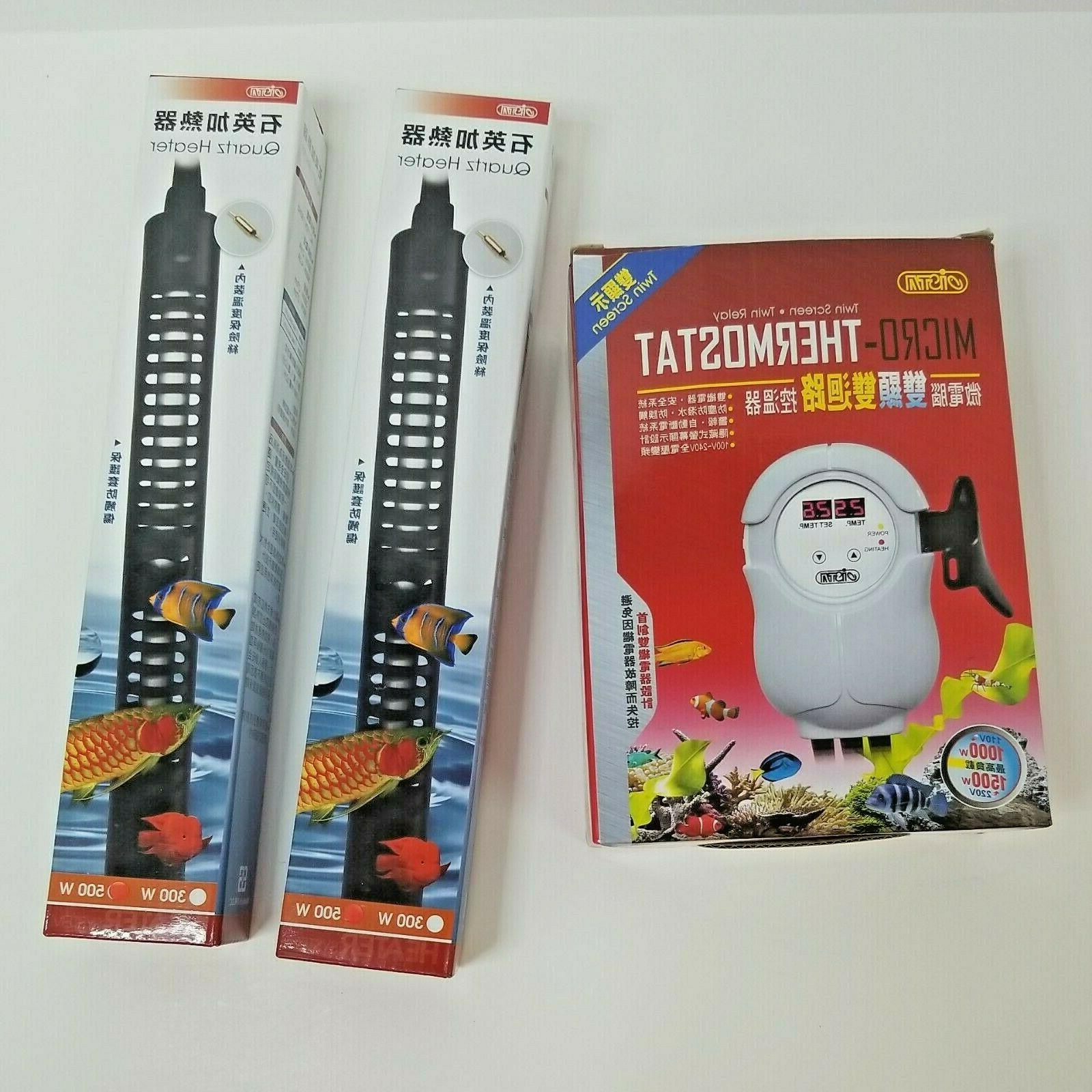 micro temperature controller thermostat heater