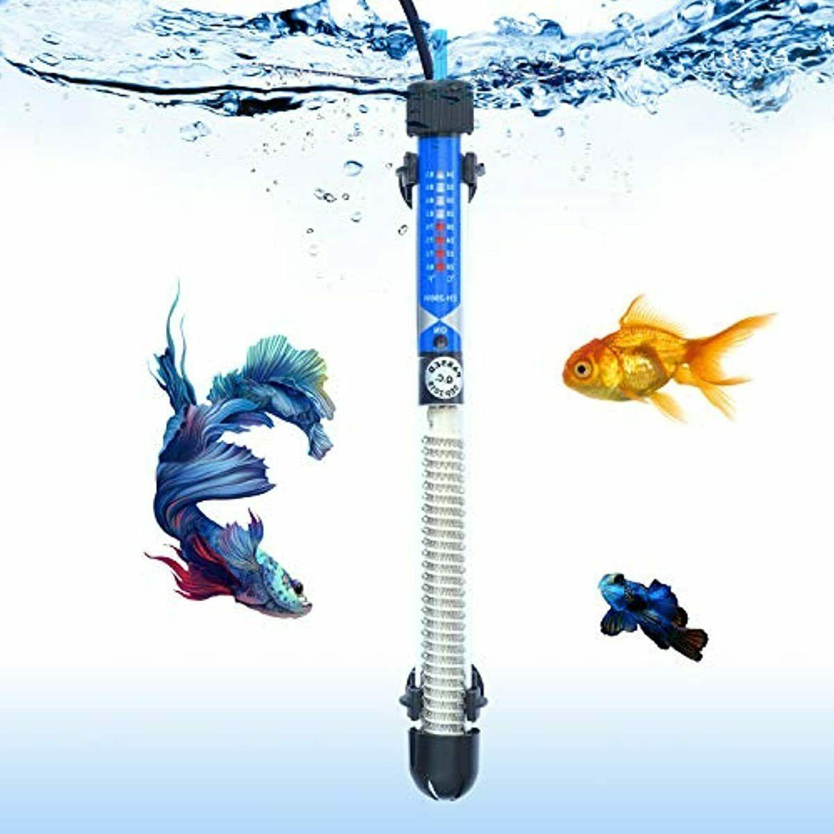 salute aquarium heater submersible auto thermostat heater