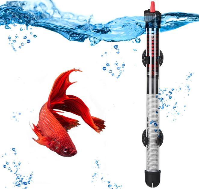 submersible aquarium fish tank water heater adjustable