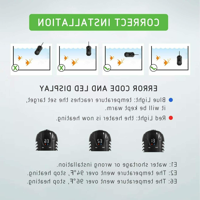 VIVOSUN Heater 25W Heaters Intelligent