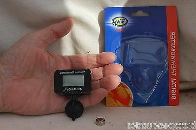 t07 stick on thermometer submersible fish tank