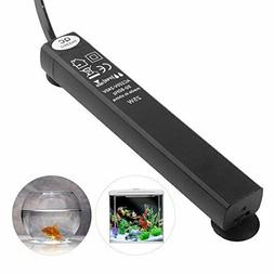 JunBo Mini Aquarium Heater Submersible for Small & Fish Tank