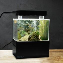 Mini Plastic Fish Tank Portable Desktop Aquarium Water Filtr