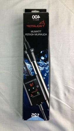 titanium aquarium heater with controller 400 watt